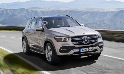 2019 Mercedes-Benz GLE officially revealed