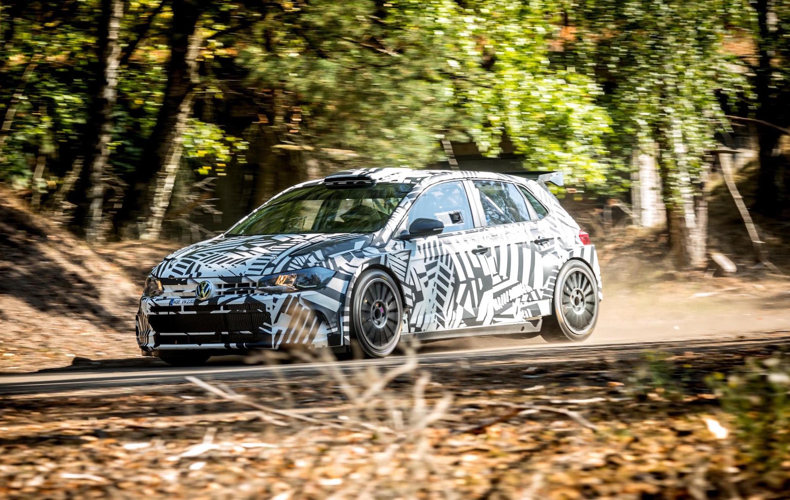 2019 Volkswagen Polo Gti R5 Rally Car Available To Order Performancedrive