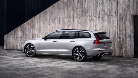 2019 Volvo V60 R-Design pack revealed, adds cool sporty character