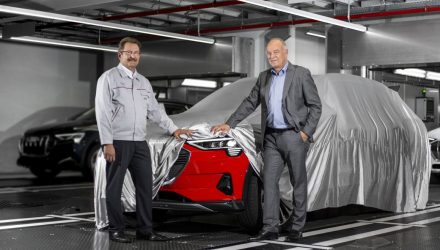 Audi e-tron production commences at Brussels plant, debuts soon