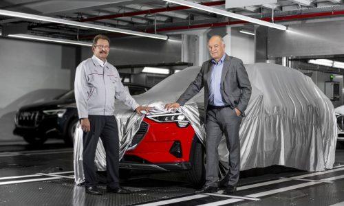Audi e-tron production commences at Brussels plant, debuts soon
