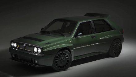 Automobili Amos Lancia Delta Futurista revealed, 20 up for grabs