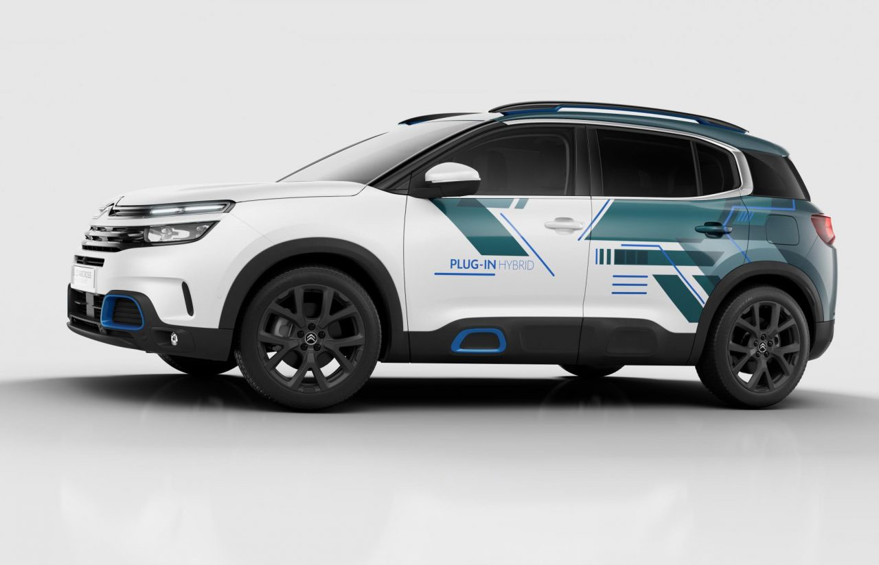 Citroen C5 Aircross hybrid concept previews 2020 showroom ...