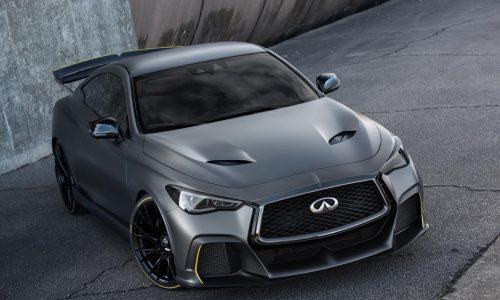 Infiniti Project Black S concept debuts potent twin-turbo hybrid tech