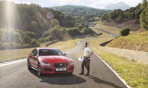 Jaguar XE 300 Sport sets record at abandoned Circuit de Charade (video)