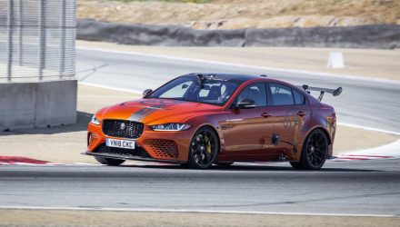 Jaguar XE SV Project 8 sets Laguna Seca sedan lap record (video)