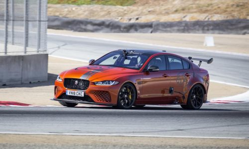 Jaguar XE SV Project 8 sets Laguna Seca sedan lap record (video)