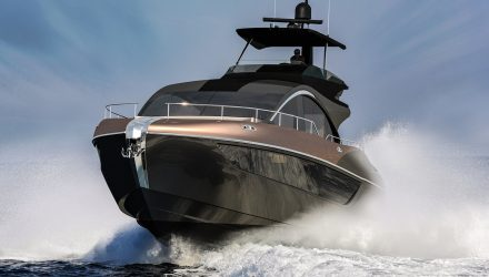 Lexus LY 650 luxury yacht revealed as 4th L-line model