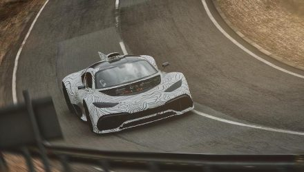 Mercedes-AMG Project ONE prototype testing continues