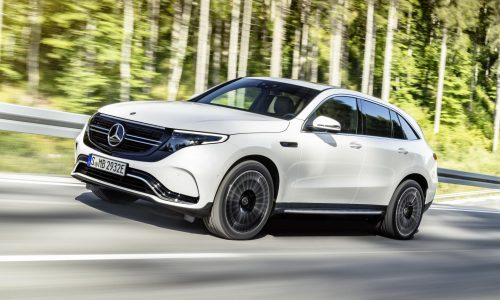 Mercedes-Benz EQC unveiled, new electric mid-size SUV