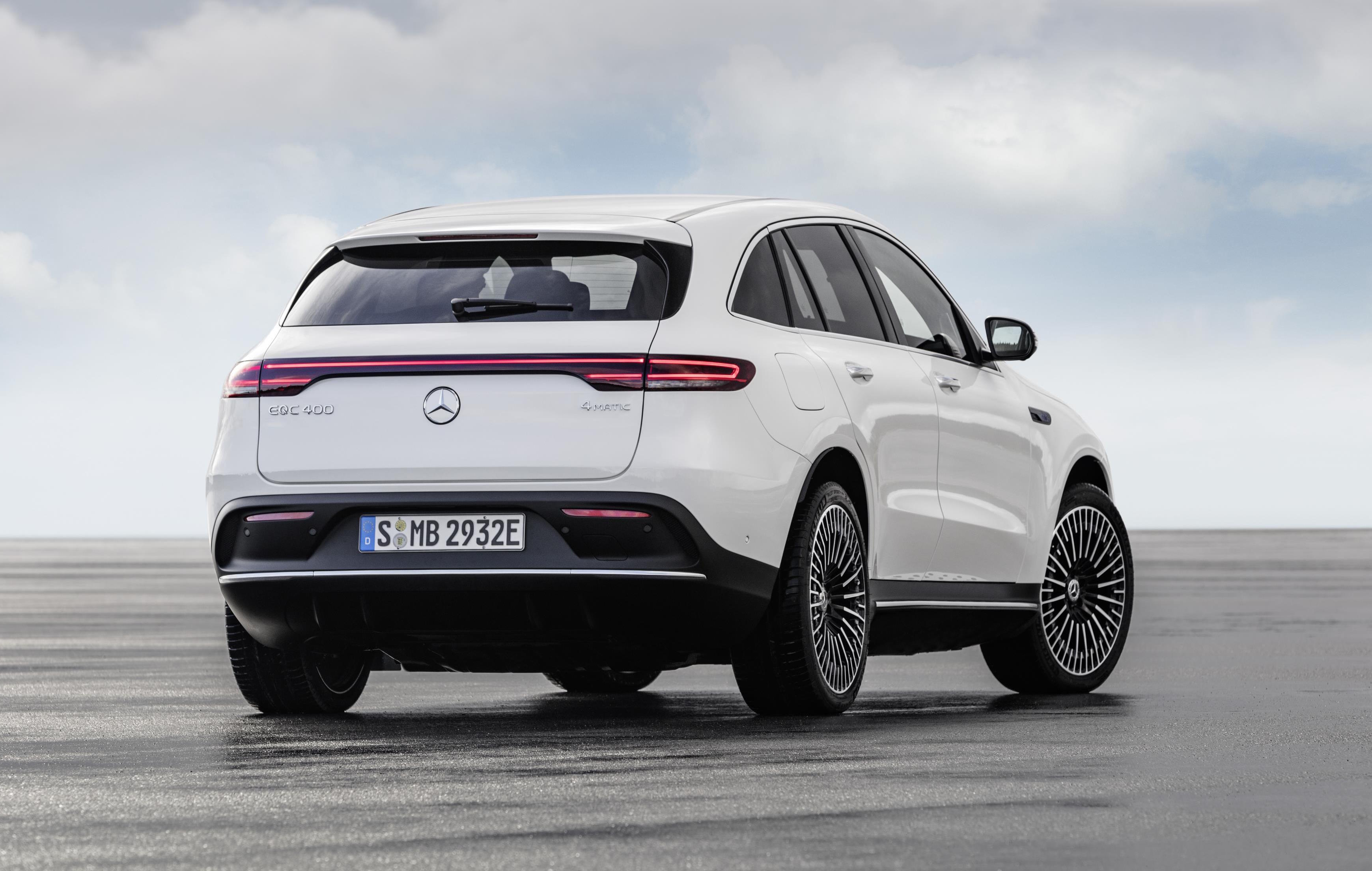 Mercedes-Benz EQC unveiled, new electric mid-size SUV ...
