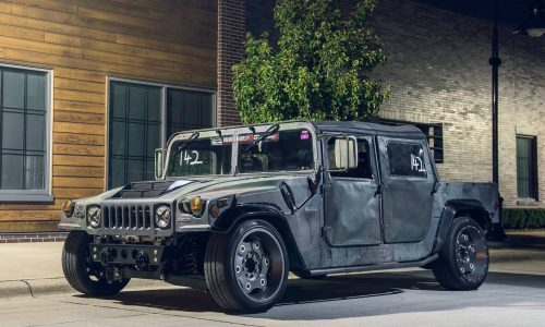 Mil-Spec Hummer H1 is ready for the track… wait, what?