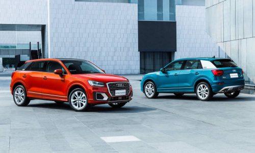 Audi Q2 L long wheelbase revealed for China