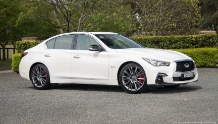 2018 Infiniti Q50 Red Sport 3.0t review (video)