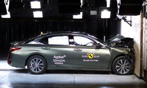 Lexus ES 300h, Mazda6, Mercedes A-Class get 5-star ANCAP rating