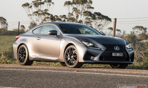 2018 Lexus RC F 10th Anniversary Edition review (video)
