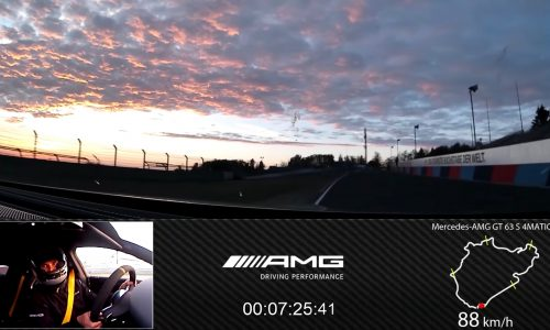 Mercedes-AMG GT 63 S claims Nurburgring lap record (video)