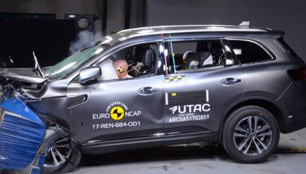 2018 Renault Koleos awarded 5-star ANCAP safety rating