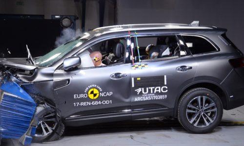 2018 Renault Koleos awarded 5-star ANCAP safety rating
