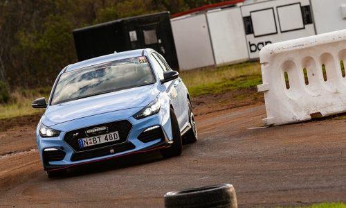Racing the Hyundai i30 N in Whiteline Twilight Tarmac Rallysprint: Round 1