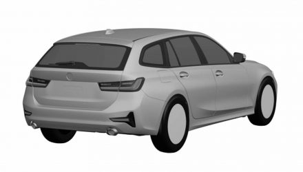 2019 BMW 3 Series Touring wagon patent images reveal design