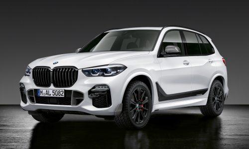 2019 BMW X5 M Performance enhancements revealed