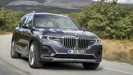 2019 BMW X7 unveiled as new flagship SUV