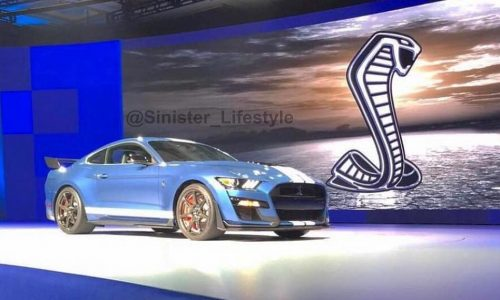 Is this the 2019 Ford Shelby Mustang GT500?