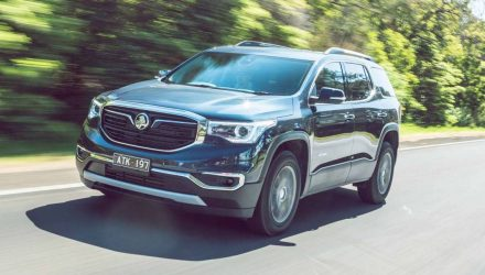 2019 Holden Acadia now on sale from $42,990