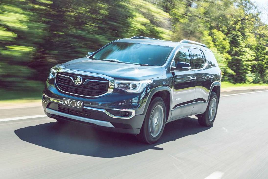 2019 Holden Acadia now on sale from $42,990 | PerformanceDrive