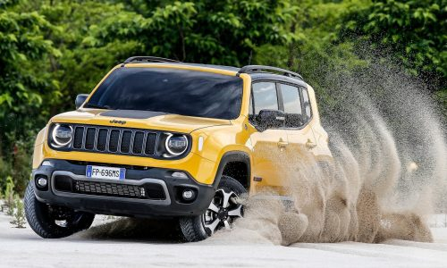 Jeep Renegade hybrid in the pipeline, part of electrified vehicle push