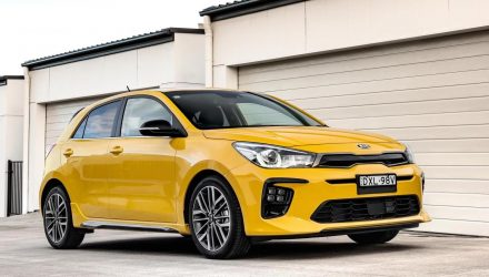 2019 Kia Rio on sale in Australia, 1.0 turbo GT-Line added
