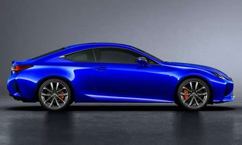 2019 Lexus RC on sale in Australia later this year
