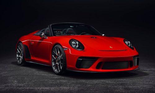 Porsche 911 Speedster confirmed for production, arrives 2019