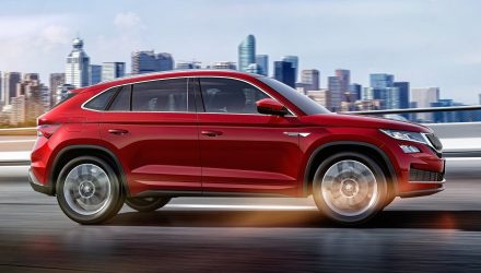 Skoda Kodiaq GT unveiled, new coupe SUV for China