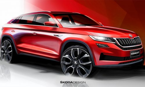 Skoda Kodiaq GT coupe SUV previewed, for China only