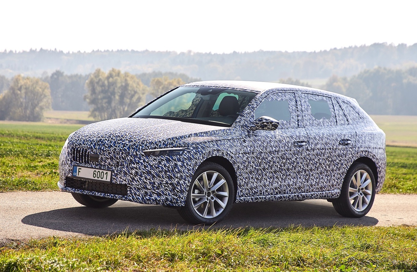 All New Skoda Scala Previewed To Replace Rapid Performancedrive