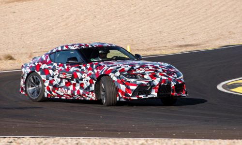 A90 Toyota Supra debut confirmed for Detroit show (video)
