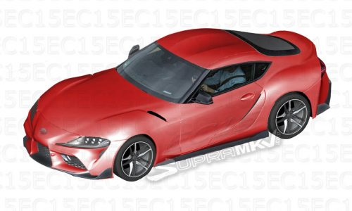 New Toyota Supra rendered, based on leaked images