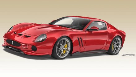 Ares Design Ferrari 250 GTO is a spectacular modern remake