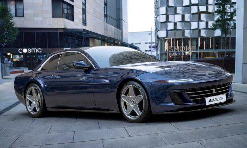 Ares Design finalises Project Pony 'Ferrari 412' design