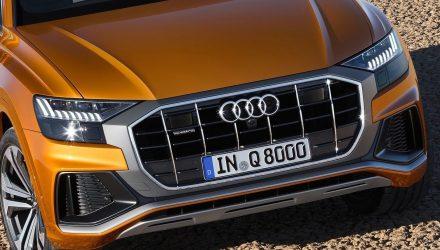 Audi Q8 grille