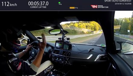 BMW M2 Competition laps Nurburgring in 7:52, understeer? (video)
