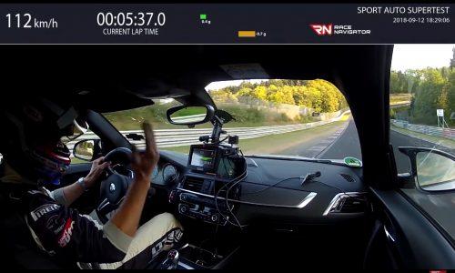 BMW M2 Competition laps Nurburgring in 7:52, understeer? (video)