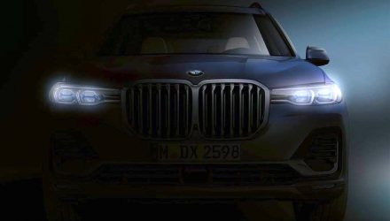 BMW X7 teaser confirms imposing front end design
