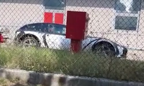 Ferrari SUV 'Purosangue' spotted for first time (video)