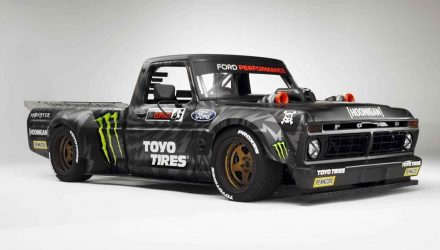 Ken Block creates insane 'Hoonitruck' Ford F-150 for Gymkhana 10 (video)