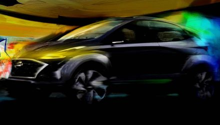Hyundai Saga concept previews compact electric SUV