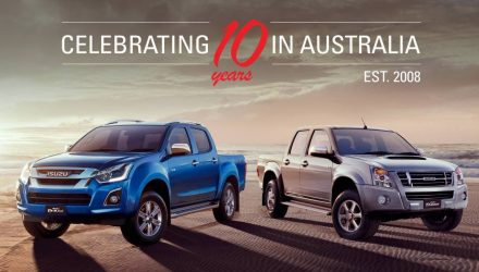 Isuzu Ute celebrates 10 years in Australia this month