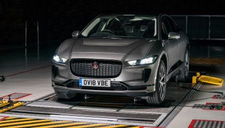 Jaguar I-PACE 'AVAS' tech provides sound for silent car (video)
